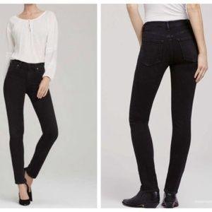 COH Agnes Mid Slim Black Denim Stretch Jeans
